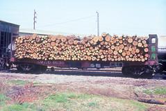 GM&O 4630 (Chuck Zeiler) Tags: gmo 4630 railroad pulpwood flat car flatcar freight corinth chuckzeiler chz