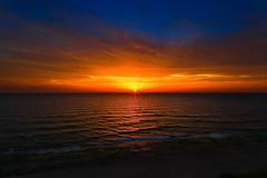 Sunset in Tel-Aviv beach (Lior. L) Tags: sunsetintelavivbeach sunset telaviv beach landscape landscapes nature sky telavivbeach israel travel travelinisrael