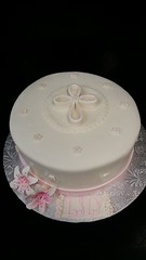 Christening cake (dragosisters) Tags: cake cross baptism christening