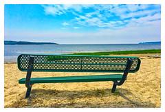 Swift's Beach (Timothy Valentine) Tags: 0617 large bench beach 2017 monday wareham massachusetts unitedstates us