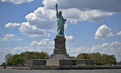 Liberty Island (tim.perdue) Tags: nyc new york city vacation big apple metropolis urban manhattan hudson river water cruise circle line boat liberty island bay harbor statue lady monument