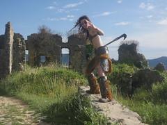 Shooting Skyrim - Ruines d'Allan -2017-06-03- P2090575 (styeb) Tags: shoot shooting skyrim allan ruine village drome montelimar 2017 juin 06 cosplay
