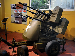 "M45 50 cal Quadmount (Maxson) M45 Quadmount, nicknamed the ""meat chopper"" and ""Krautmower"" (BMrider2012 Over 1 Million Views! Thankyou :-) Tags: m45 quadmount maxson antiaircraft antipersonnel system krautmower meat chopper"