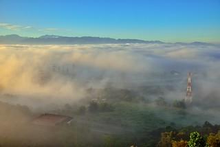 橫山仙境~晨光雲海~  Clouds sunrise