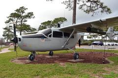 """O-2A Super Skymaster, U. S. Air Force (67-21368), """"Whisper of Death,"""" Hurlburt Field, Florida, Hurlburt Field Memorial Air Park (EC Leatherberry) Tags: hurlburtfieldmemorialairpark hurlburtfield o2asuperskymaster usairforce 1967 cessna cessnaaircraft observationaircraft us98 vietnamwar"""