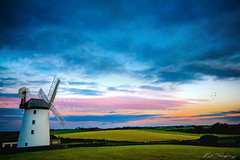 Whoops not another windmill (Kyle TKT) Tags: millisle windmill sky sunset northernireland clouds landsape ballycopeland farmland farming countryside rural