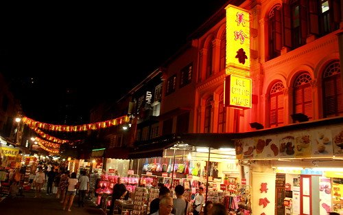 Chinatown Streets at Night