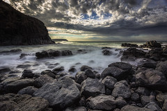 Misty waters of Bushrangers Bay (RissaJT_23) Tags: bushrangersbay capeschanck canon6d canoneos6d canon canon1740mm water bay ocean seascape rocks stormyweather mysterious misty landscape australianlandscape longexposure beach ndfilters morningtonpeninsula earlymorning mist bassstrait