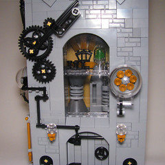 Steampunk house (YUO_kyiv) Tags: steampunk moc lego building