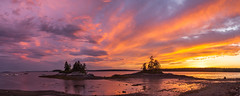 Sunset (Me in ME) Tags: harpswell maine sunset