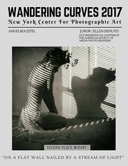 "awards│ Second Place Winner in the ""Wandering Curves 2017"" International Photographic Contest of New York Center For Photographic Art, U.S.A. (RapidHeartMovement) Tags: contest photography portrait newyork exhibition rapidheartmovement"