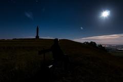 Repos sur un banc (David Sch.) Tags: collinedesion favori france lorraine meurtheetmoselle nuages nuit