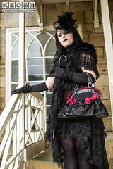 IMG_9451.jpg (Neil Keogh Photography) Tags: gloves churchwindows skirt church wgw scarf black whitby shoes handbag lace female goth whitbygothicweekendapril2017 blouse highheels whitbygothicweekend stmaryschuch tights woman umbrella satin gothic scarv steps dress white