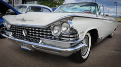 1959 Buick Electra 225 Convertible (coconv) Tags: car cars vintage auto automobile vehicles vehicle autos photo photos photograph photographs automobiles antique picture pictures image images collectible old collectors classic blart 1959 buick electra 225 convertible 59 white bucket seats cabriolet