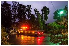 Storm and tow truck - Cashtown, Pa (August 2016) by Alexis Gerard -