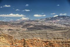 Desert mountain peaks at Ubehebe Crater (taharaja) Tags: cactus california deathvalley desert furnacecreek ghosttown jeeping lowestpoint nationalpark offroad oldtown racetrack sealevel zabriskiepoint lakebed movingstones slatflats