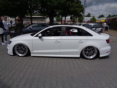Audi A3 Limousine (911gt2rs) Tags: treffen meeting show event howdeep tuning tief low stance slammed custom 8v 8vs sedan stufenheck s3 3sdm wheels felgen airride airlift