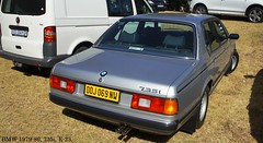 BMW 735i E-23 (Basic Transporter) Tags: classic car show south africa old vvc bmw 735i e23