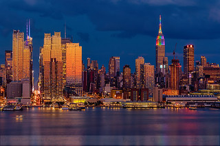 New York City Skyline Pride