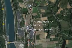 N7 / A7 - Saulce-sur-Rhône (France) (Meteorry) Tags: europe france auvergnerhônealpes drome saulcesurrhône montélimar n7 a7 googlemaps google courtepaille ibis road routes autoroute autoroutedusoleil nationale7 routenationale june 2017 meteorry