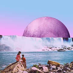 Plutonic waterfall (Mariano Peccinetti Collage Art) Tags: cutandpaste globular collage surreal collageartist peccinetti marianopeccinetti dream meditation retro arte psych art psychedelic flowers vintage vintageart trippy 70s 60s lsd dmt surrealist surrealism space fullmoon moon cosmic camp saturn rainbow yoga desert lovers world love stars sun planets planet jupiter fungi pink vaporwave vapor kid luminous child