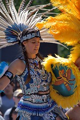 Aztec Dancer (swong95765) Tags: dancer costume elaborate pretty talented skilled show aztec feathers colorful beads