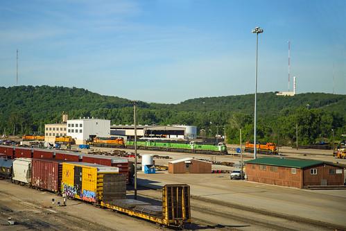 BNSF Cherokee Yard - Tulsa