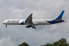 9K-AOF Boeing 777 Kuwait