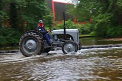 IMG_0462 (Yorkshire Pics) Tags: 1006 10062017 10thjune 10thjune2017 newbyhalltractorfestival ripon marchofthetractors marchofthetractors2017 ford fordcrossing river rivercrossing tractor tractors farmingequipment farmmachinery agriculture yorkshire northyorkshire
