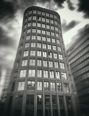 #Moscow #black and white architecture aka Arrivals (NO PHOTOGRAPHER) Tags: hochhaus gebäude cityscape skyline detail blackandwhite monochrome building outdoor architecture iphoneography iphonephotography exterier urban blue skycraper iphone 6s panorama panoramatic москва россия архитектура строительство река мост