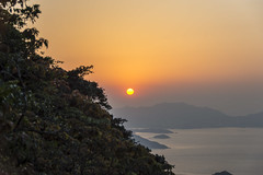 hk sunset (Greg Rohan) Tags: nature hongkongsunset hongkong d7200 2017 landscape sky sunset sun orange dusk asia china