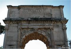 Arco de Tito (Ubierno) Tags: roma rome italia italy europa europe art arte romanempire imperioromano arcodetito archoftitus tito titus jews judío sack saqueo jerusalén jerusalem ubierno denuevo fororomano romanforum foro imperial forum