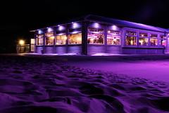 Blu Beach Pt 2 (maijau) Tags: fujifilmx100f longexposure nightshot blubeach netherlands noordwijk