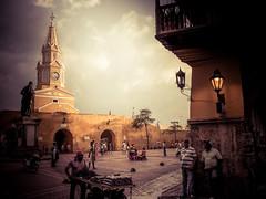 Cartagena De Indias (gies777) Tags: kolumbien colombia südamerika southamerica americadelsur karibik caribbean caribe cartagena cartagenadeindias sony alpha 700 a700 kolonial colonial plazadeloscoches altstadt centro historico