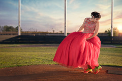 Q3WEB (Frank Hassett) Tags: sony people dress quince sunset softball sweet 16 outside photography