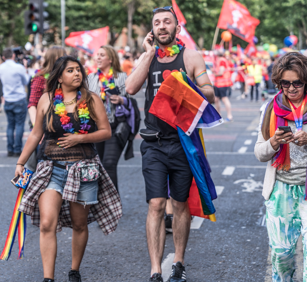 LGBTQ+ PRIDE PARADE 2017 [ON THE WAY FROM STEPHENS GREEN TO SMITHFIELD]-129992