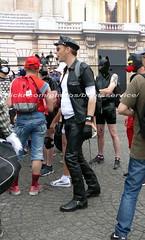 """bootsservice 17 1600271 (bootsservice) Tags: paris """"gay pride"""" """"marche des fiertés"""" bottes cuir boots leather sm motards motos motorcyclists motorbiker caoutchouc rubber uniforme uniform"""