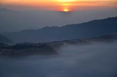 As the sun starts shining (tian_allagans) Tags: sunrise bromo indonesia tengger landscape travel