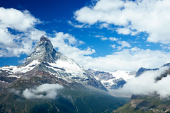 Matterhorn. Switzerland Symbol.