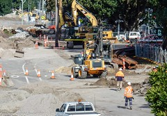 CBD & South East Light Rail - Moore Park - Update 21 June 2017 -  3 (john cowper) Tags: cselr moorepark alignment cutandcover tunnel sydneylightrail transportfornsw acconia commencement eastern sydney newsouthwales