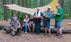 Group Shot, The Closer-Uppish Version - TOPW Bon Echo Camping Trip, 2017 (Jay:Dee) Tags: topw2017rs topw toronto photo walks bonecho provincial park 2017 camping trip visit ontario outdoors forest nature vacation fun group shot