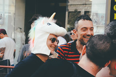 unicorn | milano pride 2017. (Nicole Favero) Tags: verde pride lgbt loveislove amazing mine cute cool awesome forever followme supporter supporting straight love people wonderful crazy nikon nikond5000 camera effect lightroom lens vsco vscoeffect cam milano milan gaypride gay lesbian transgender bisexual asexual babdook babadook italy