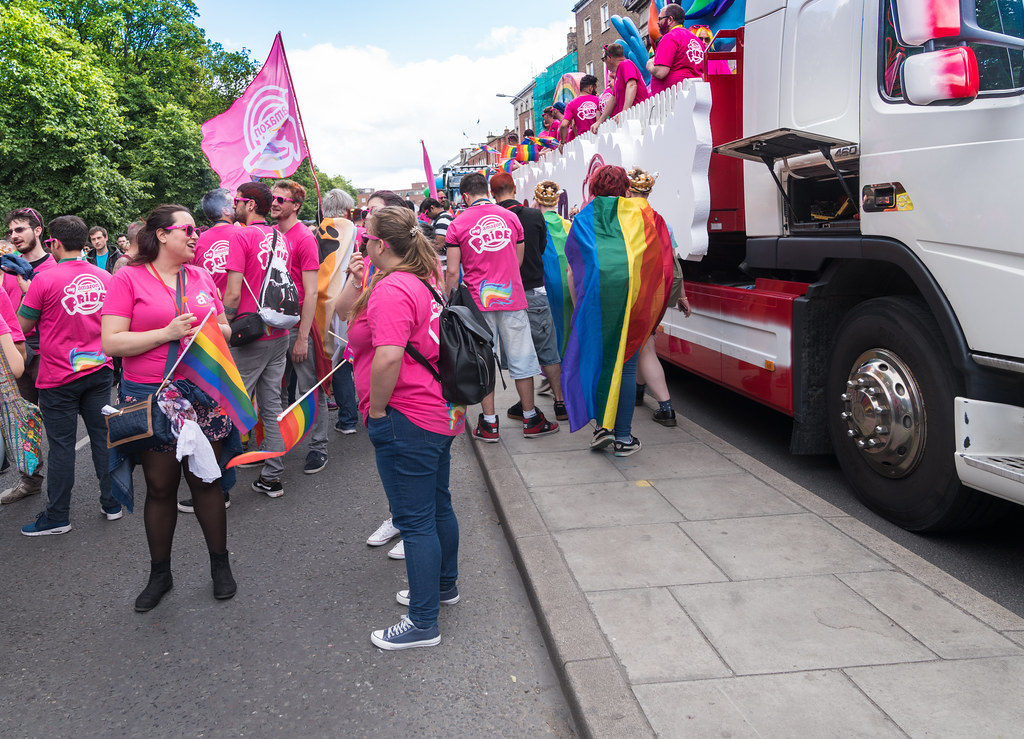 LGBTQ+ PRIDE PARADE 2017 [STEPHENS GREEN BEFORE THE ACTUAL PARADE]-129750