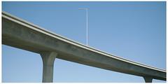 LA96 (misu_1975) Tags: la ca socal losangeles streetlight highway 5 hwy5 leica leicam mp 240 summicron summicronm 50mm f2 blue sky lookingup
