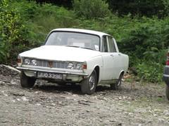 1967 Rover 2000 (occama) Tags: juo339e rover 2000 white 1967 old car cornwall uk british