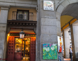 Calle Toledo Plaza Mayor,Cerveceria Restaurant Eboli