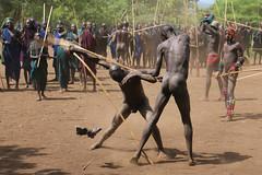 Defeat (martien van asseldonk) Tags: martienvanasseldonk ethiopia surma surmi donga stickfighting