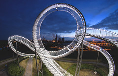 Tiger & Turtle (Pottkind_86) Tags: tigerturtle duisburg magicmountain industrie kunst art nightshot langzeitbelichtung longexposure halde ruhrgebiet ruhrpott industry
