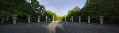 entrance (Jack Zalium) Tags: panorama panoramic romania bucuresti bucharest titan titanpark parcultitan vases urns parculalexandruioancuza