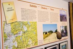 Igor museo, information board (visitsouthcoastfinland) Tags: visitsouthcoastfinland degerby igor museum museo finland suomi travel history indoor